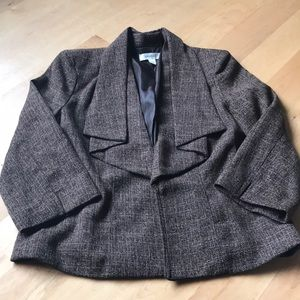 Very cute brown jacket blazer